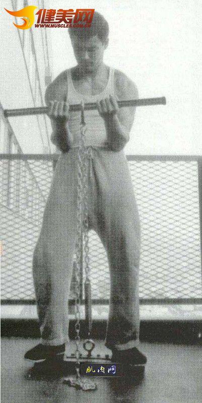 李小龙/李小龙力量锻炼图片集合